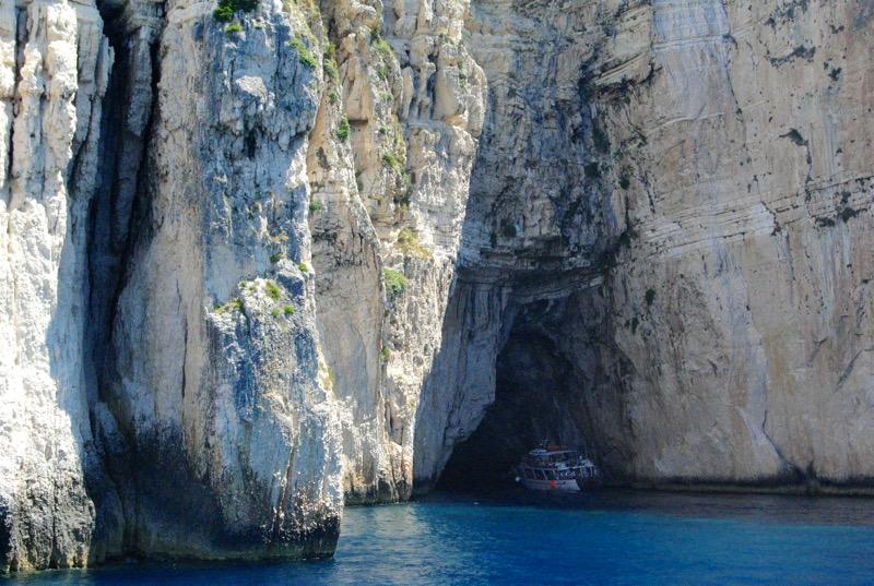 Excursie din Corfu la Grotele Albastre Paxos si Antipaxos 26