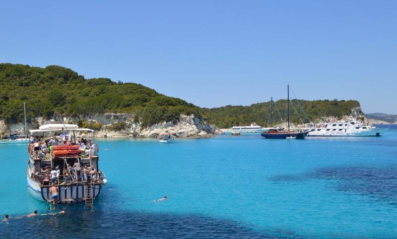Excursie din Corfu la Grotele Albastre Paxos si Antipaxos 3
