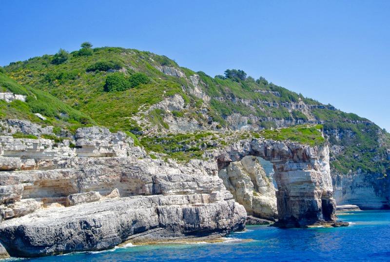 Excursie din Corfu la Grotele Albastre Paxos si Antipaxos 28