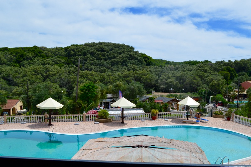 Cazare Filoxenia Mermaid Studios Paleokastritsa piscina