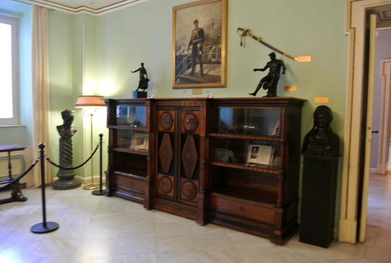Palatul Achilleion din insula Corfu camere mobila