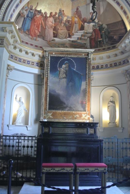 Palatul Achilleion din insula Corfu capela