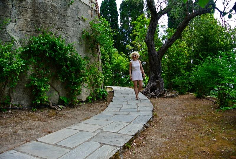 Palatul Achilleion din insula Corfu gradini