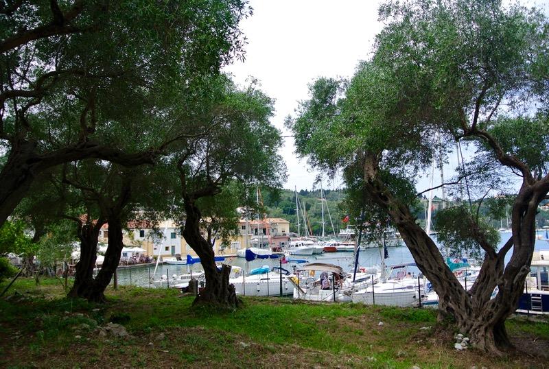 Satul pescăresc Lakka din Paxos 22