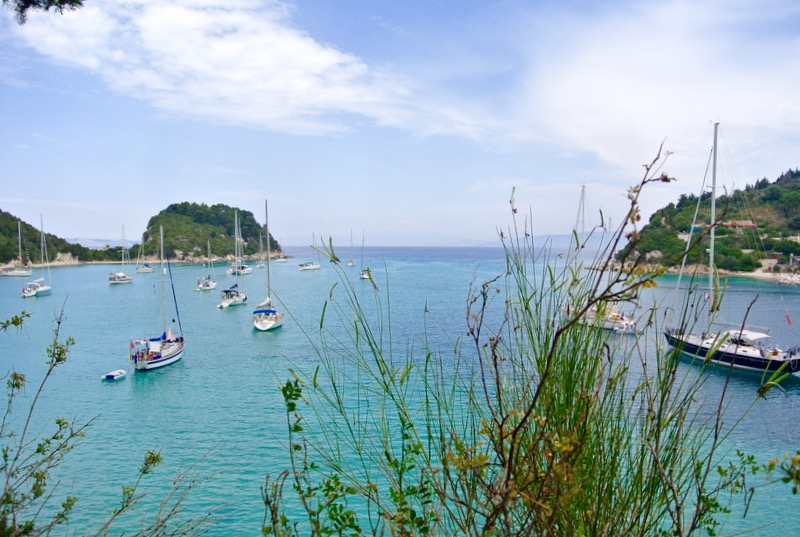 Satul pescăresc Lakka din Paxos 8