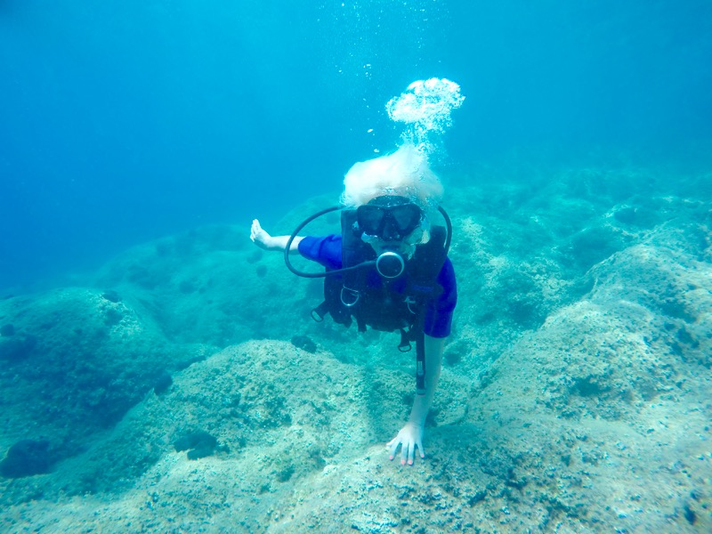 scuba diving in Corfu grecian 7