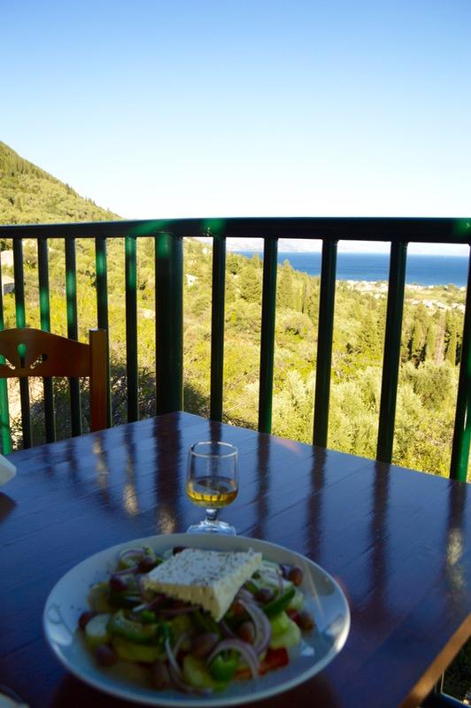 Baruri traditionale in insula Corfu: Panorama in Agios Markos 13