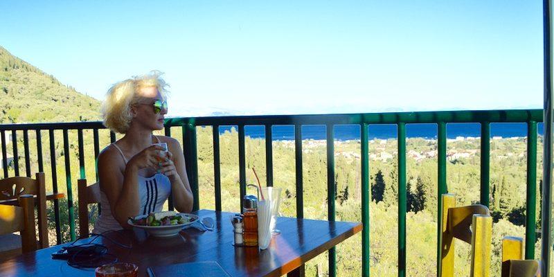 Baruri traditionale in insula Corfu: Panorama in Agios Markos 14