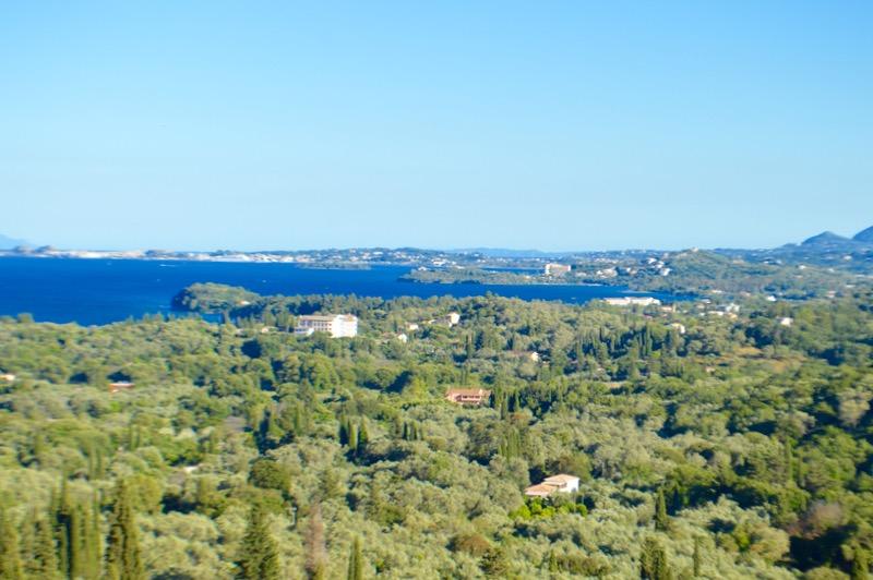 Baruri traditionale in insula Corfu: Panorama in Agios Markos 17