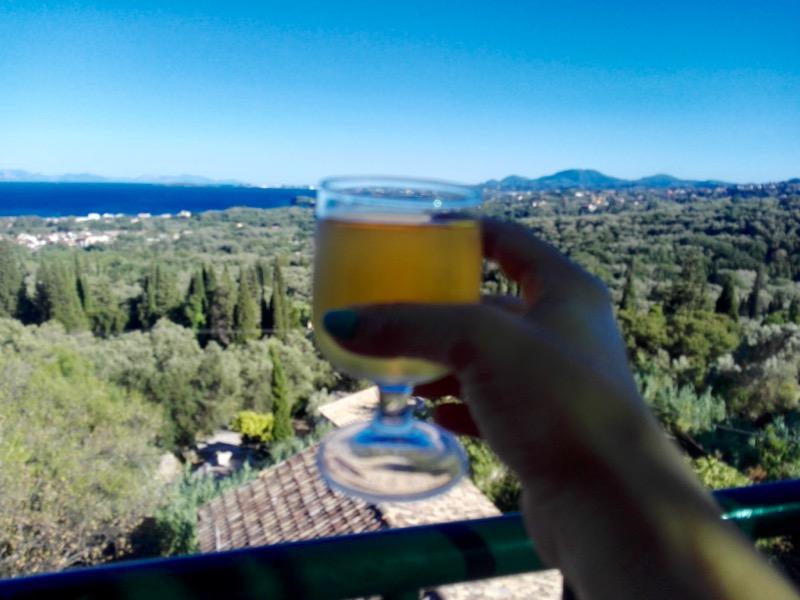 Baruri traditionale in insula Corfu: Panorama in Agios Markos 18