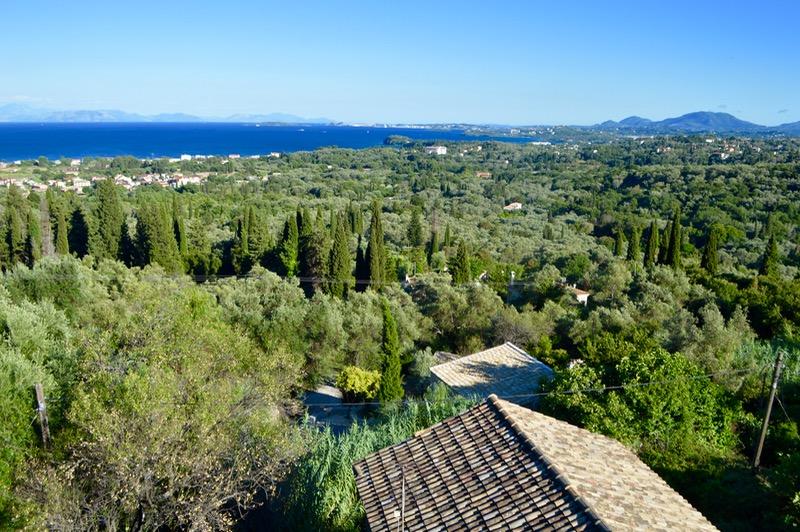 Baruri traditionale in insula Corfu: Panorama in Agios Markos 7