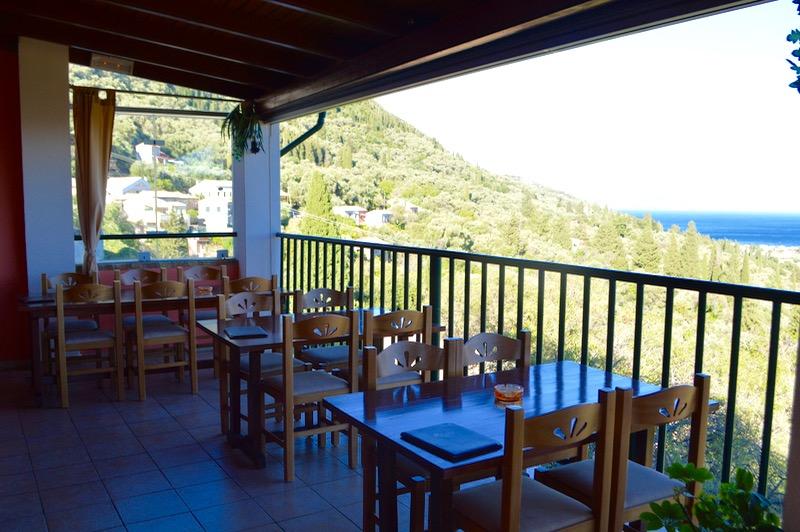 Baruri traditionale in insula Corfu: Panorama in Agios Markos 9