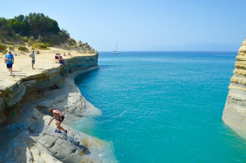 Sidari Corfu Canalul dragostei iubiirii 5
