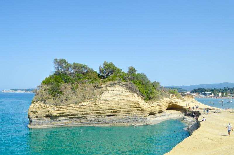 Sidari Corfu Canalul dragostei iubiirii 6