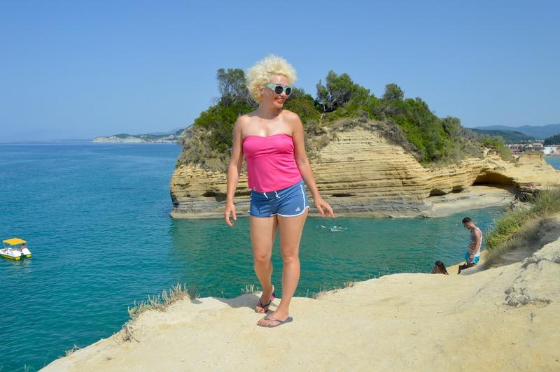 Sidari Corfu Canalul dragostei iubiirii 7