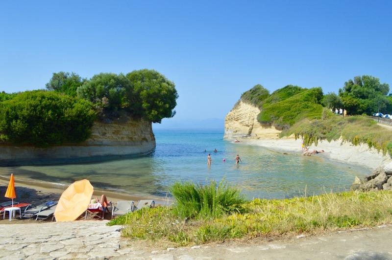 Sidari Corfu Canalul dragostei iubiirii 10