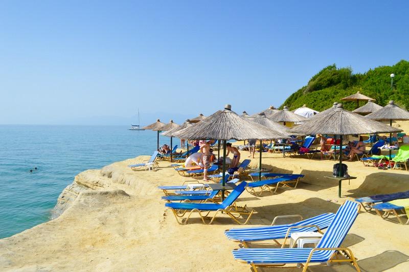 Canalul Iubirii Sidari Corfu dragostei plaja 2