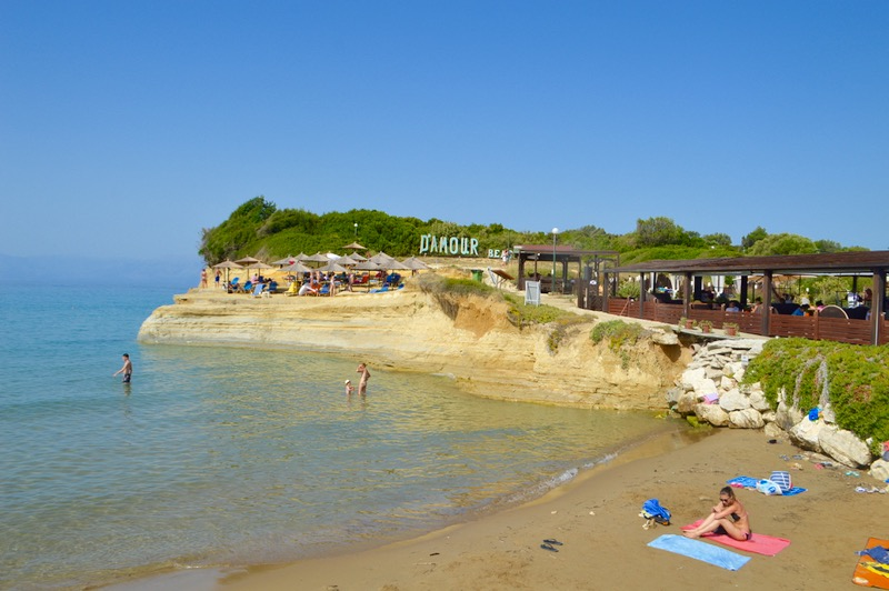 Canalul Iubirii Sidari Corfu dragostei plaja 4