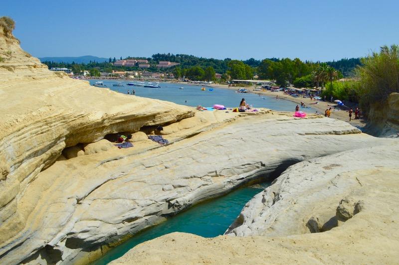Sidari Corfu Canalul dragostei iubiirii 2