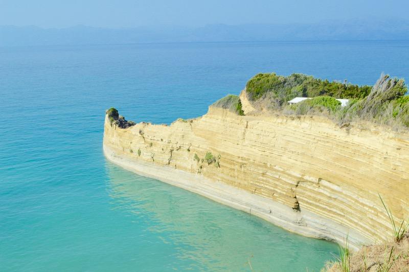 Canalul Iubirii Sidari Corfu dragostei plaja 10