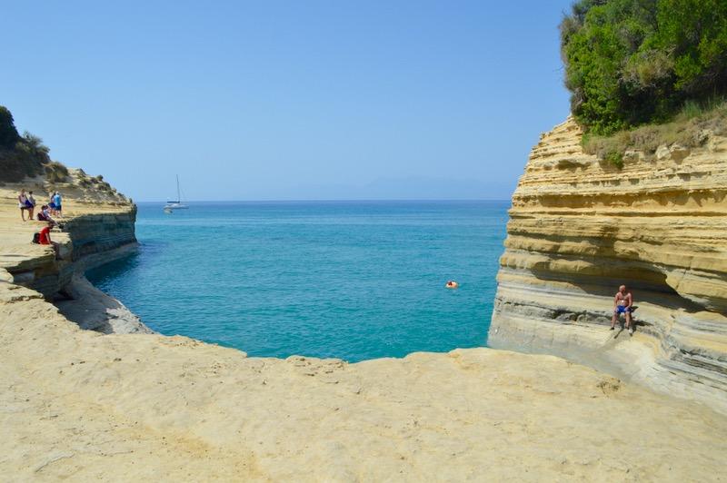 Sidari Corfu Canalul dragostei iubiirii 3