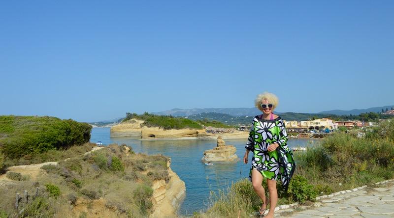 Canalul Iubirii Sidari Corfu dragostei plaja 14