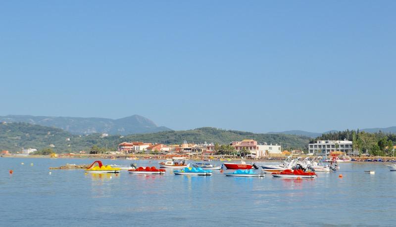 Canalul Iubirii Sidari Corfu dragostei plaja 15