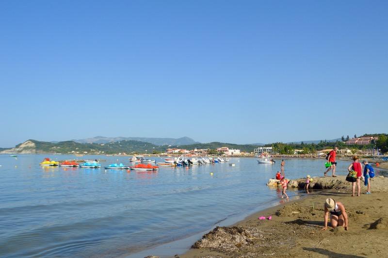 Canalul Iubirii Sidari Corfu dragostei plaja 16