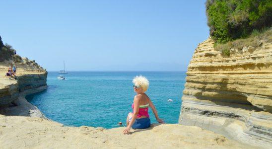 Sidari Corfu Canalul dragostei iubiirii 4