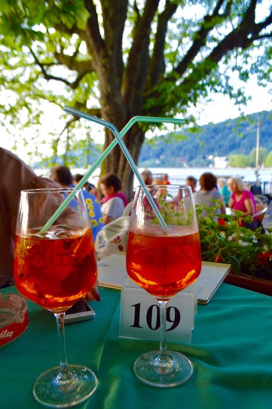 Atractii turistice în Bregenz Vorarlberg Cina pe lacul constanta