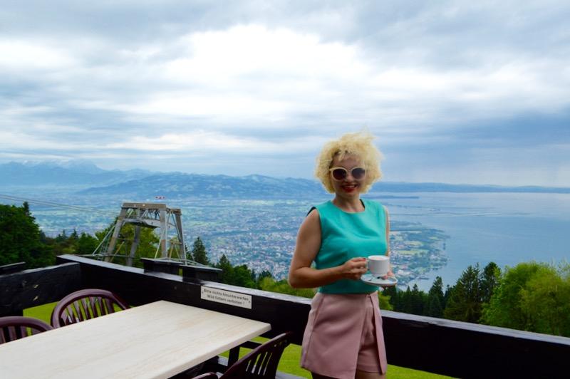 atractii turistice în Bregenz Vorarlberg gondola 1