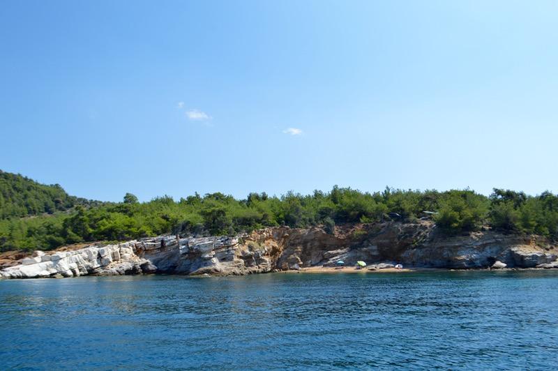 Agios Sostis Limenaria Potos Coraziere in Thassos 2023