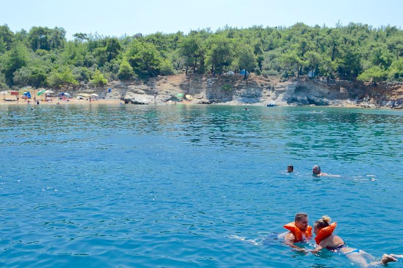 Agios Sostis Limenaria Potos Coraziere in Thassos 20 30