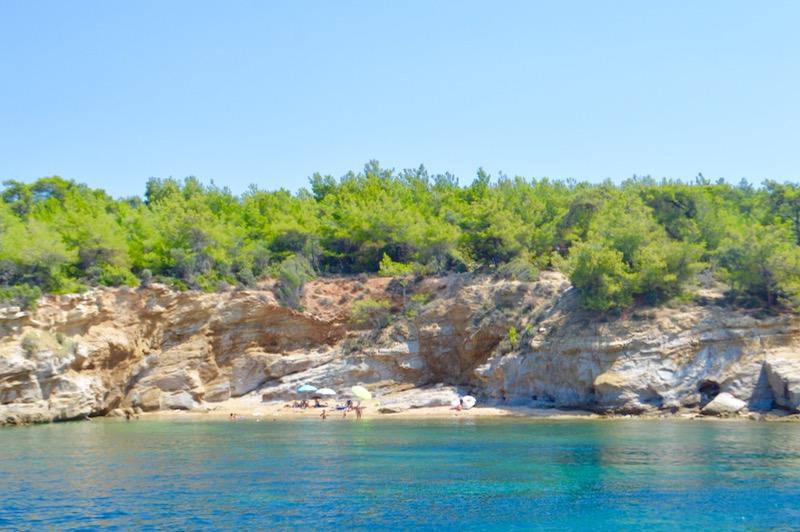 Agios Sostis Limenaria Potos Coraziere in Thassos 20 29
