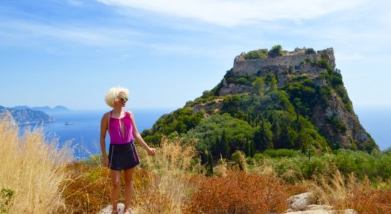 Angelokastro castelul Ingerilor Corfu 68