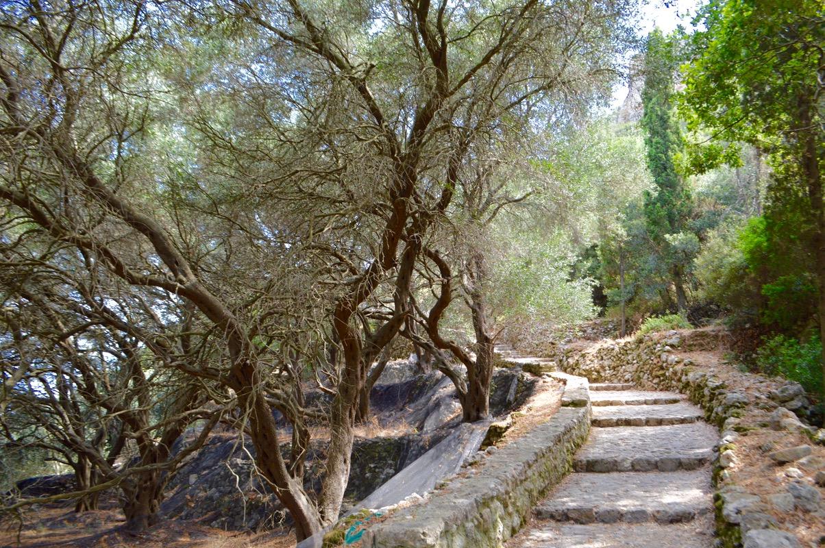 Angelokastro castelul Ingerilor Corfu 71