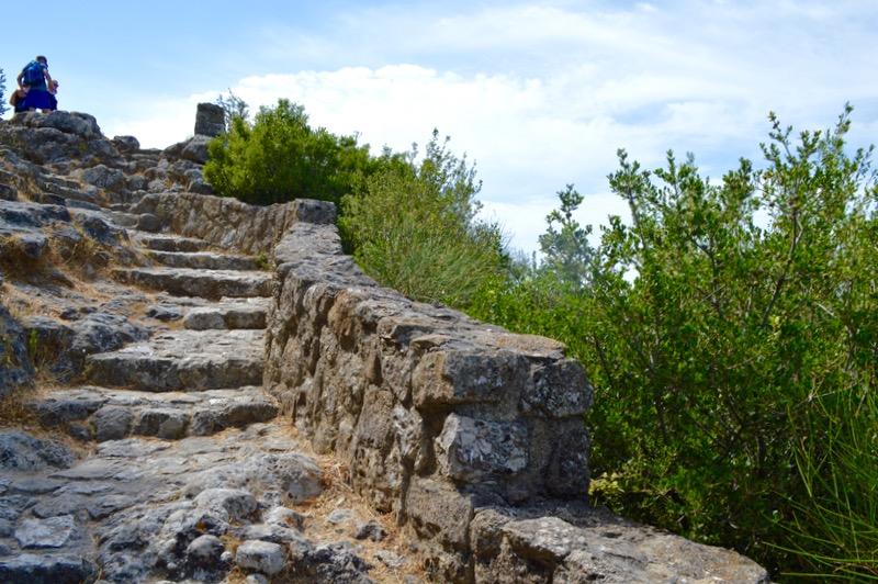 Angelokastro castelul Ingerilor Corfu 72