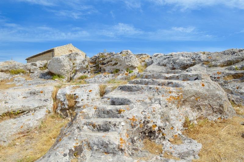 Angelokastro castelul Ingerilor Corfu 82