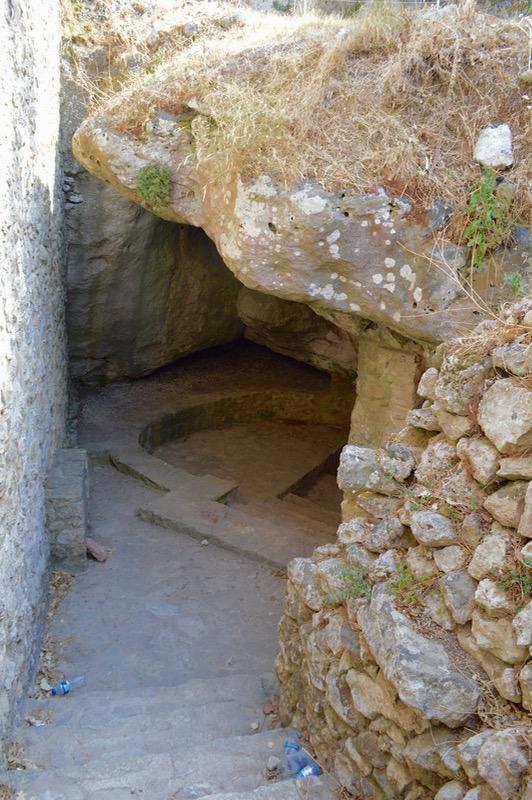 Angelokastro castelul Ingerilor Corfu 88
