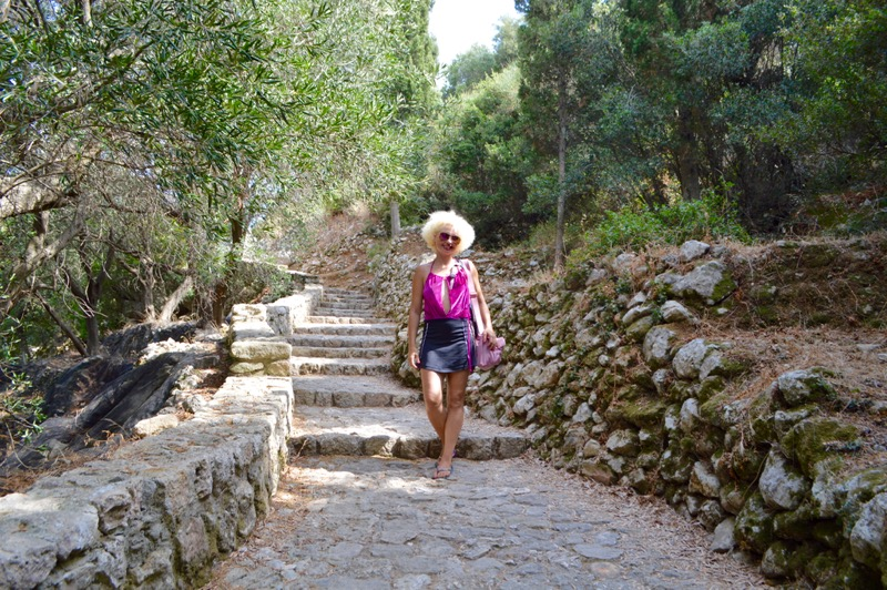 Angelokastro castelul Ingerilor Corfu 89