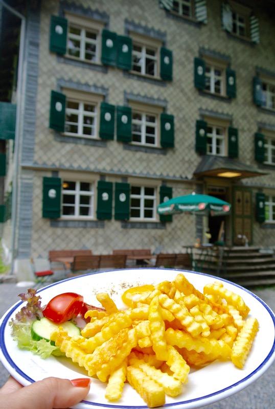 Biospherepark Grosses Walsertal pranz cina Vorarlberg Austria Hoteluri si Restaurante 7