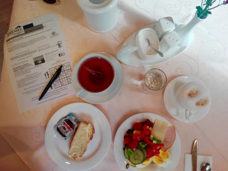 Cazare in Bregenz Hotel Garni Bodensee mic dejun