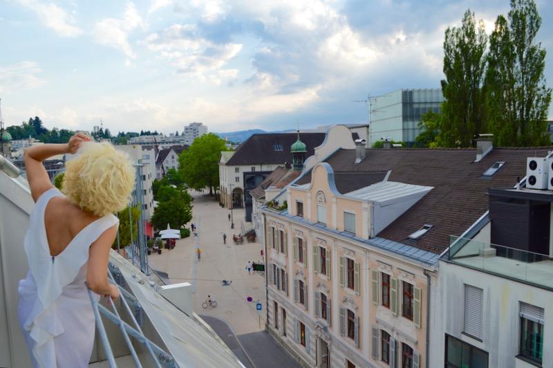 Cazare in Bregenz Hotel Garni Bodensee balcon