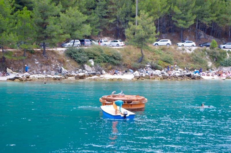 Croazia Tasso vaporas Zeus Golden Beach Hrisi Ammoudia 15