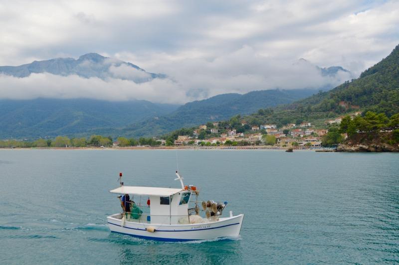 Croazia Tasso vaporas Zeus Golden Beach Hrisi Ammoudia 6