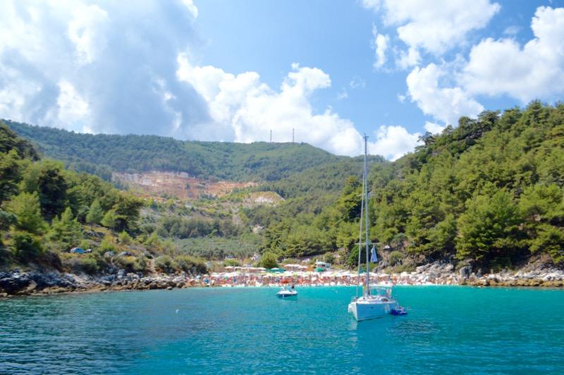 Croazia Tasso vaporas Zeus Golden Beach Hrisi Ammoudia 17
