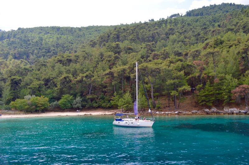 Croazia Tasso vaporas Zeus Golden Beach Hrisi Ammoudia 9