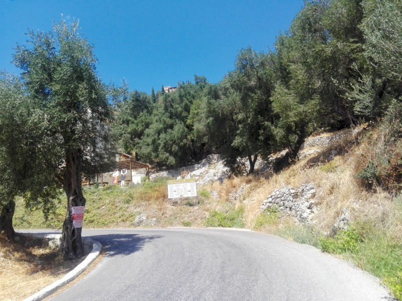 Angelokastro, castelul Ingerilor Corfu drumetie