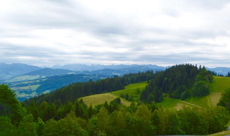 telecabina pe muntele Pfander Bregenz Vorarlberg 8