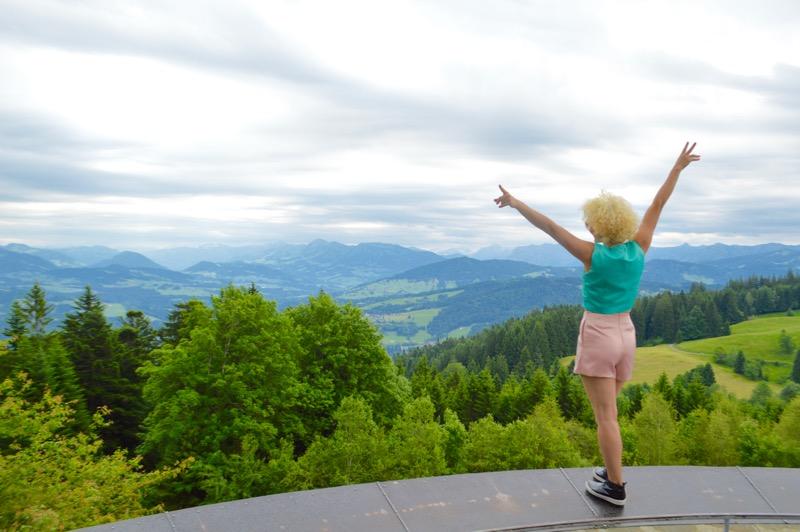 telecabina pe muntele Pfander Bregenz Vorarlberg 9